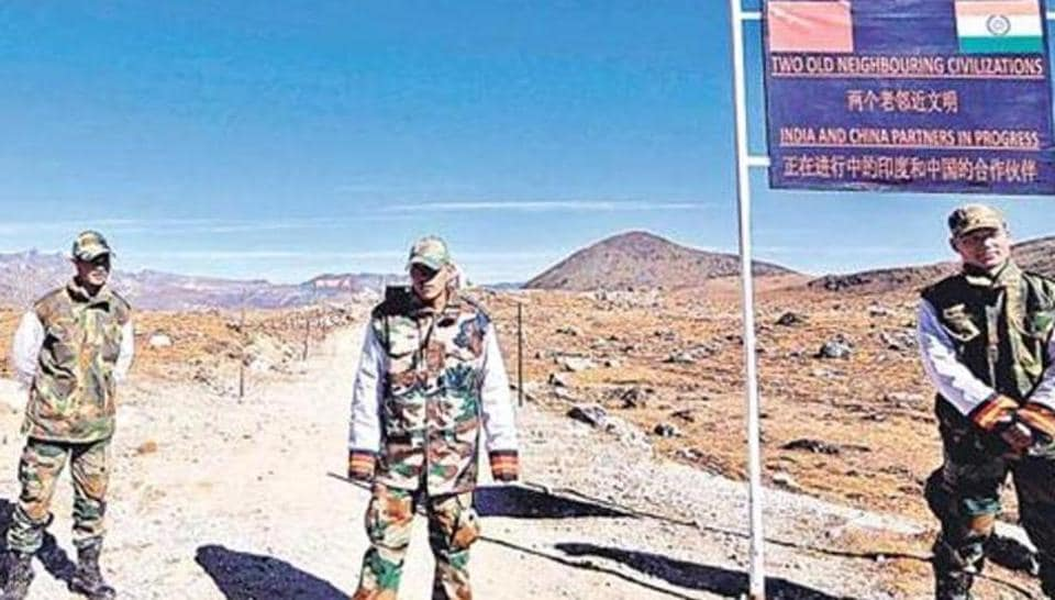 Army personnel keep vigil at the Bumla pass along the border with China in Arunachal Pradesh. Last week, Beijing unilaterally renamed six places in the state in an apparent retaliation against the Dalai Lama's visit there.