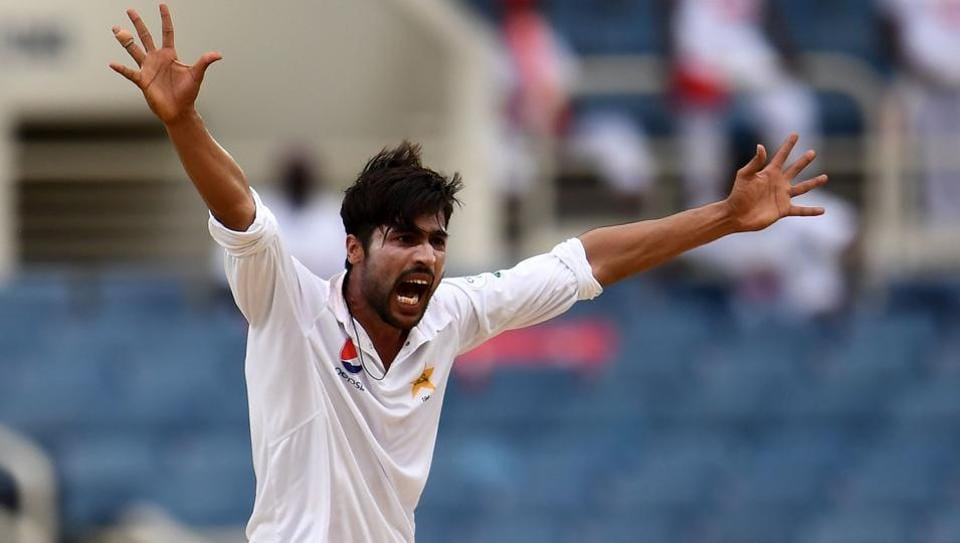 Mohammad Amir's five-wicket haul was the only talking point of a heavily rain-curtailed Day 2 of the 1st Test between West Indies and Pakistan in Kingston.