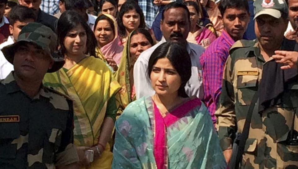 Dimple Yadav, wife of former Uttar Pradesh chief minister Akhilesh Yadav, will get only Ycategory security.