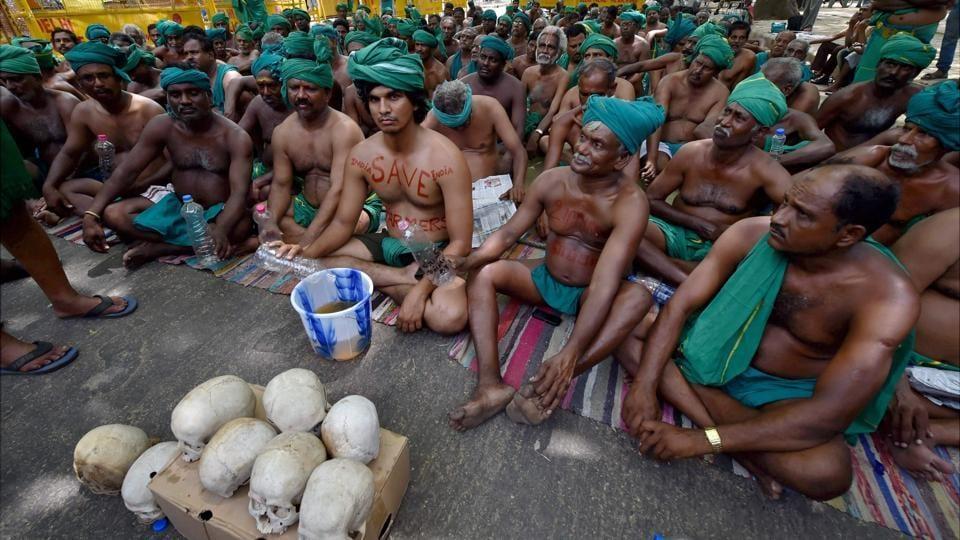 Tamil Nadu,Tamil Nadu farmers protest,Tamil Nadu farmers