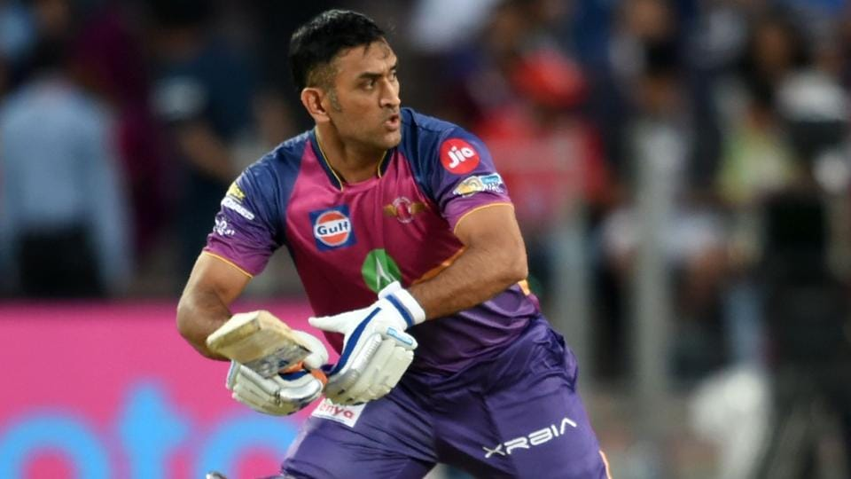 MS Dhoni returned to form with a half-century for Rising Pune Supergiant against Sunrisers Hyderabad in an Indian Premier League (IPL) match.