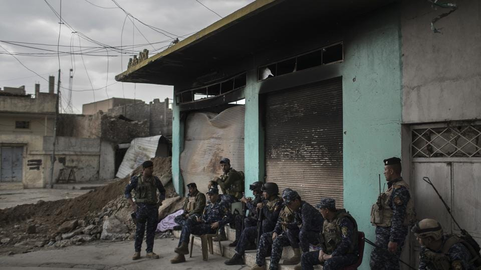 Islamic State,Iraq police,Police base
