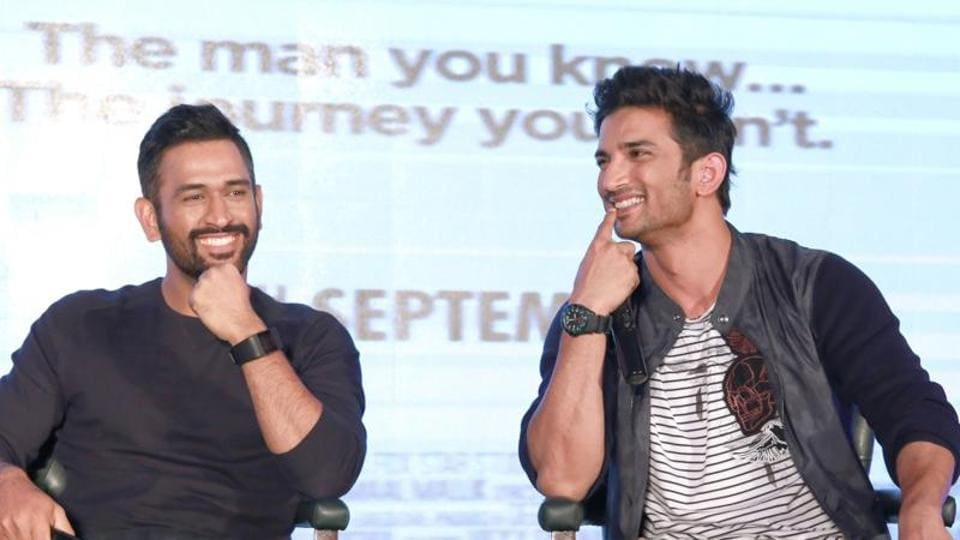 Sushant Singh Rajput portrayed Indian cricketer Mahendra Singh Dhoni in the 2016 film 'MS Dhoni : The Untold Story'.