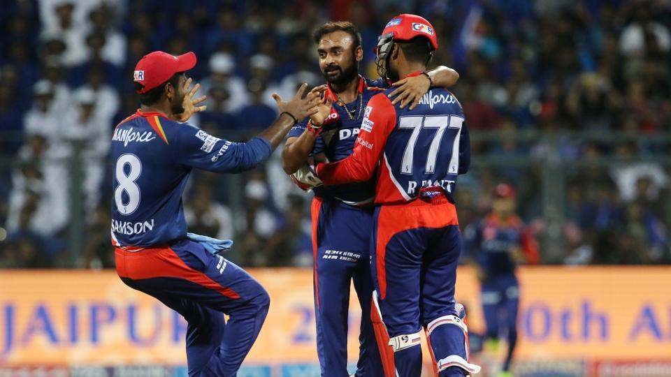 Amit Mishra got the big wicket of Rohit Sharma as Mumbai Indians stuttered. (BCCI)