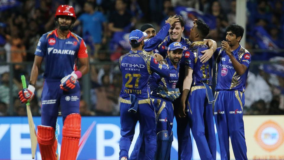 Mitchell McClenaghan picked up 3/24 to help Mumbai Indians consolidate the top spot in the 2017 Indian Premier League with a 14-run win over Delhi Daredevils. (BCCI)