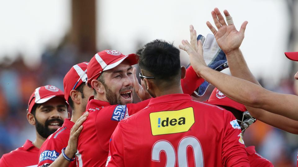 Kings XI Punjab players celebrate their 26-run win over Gujarat Lions in the 2017 Indian Premier League match played at the Saurashtra Cricket Association Stadium in Rajkot. Get highlights of Gujarat Lions vs Kings XI Punjab here.