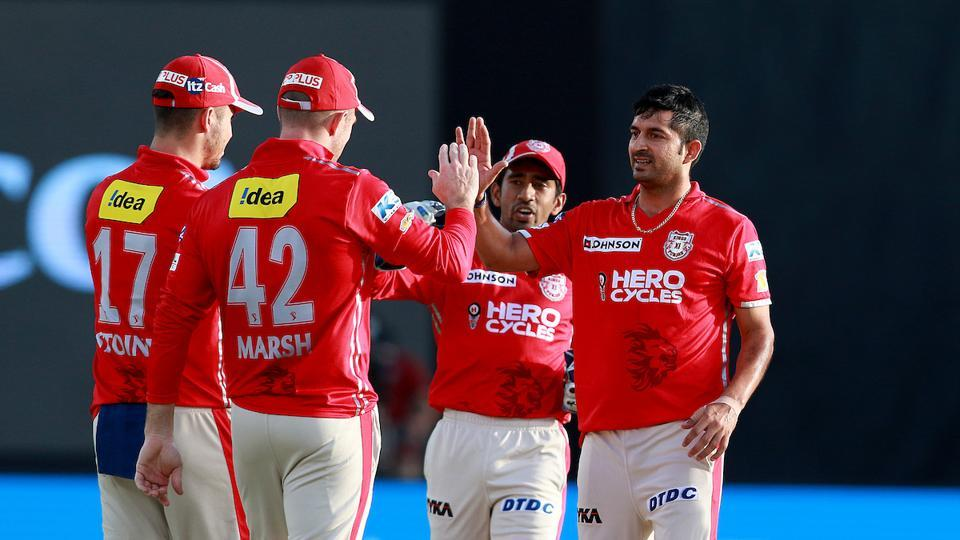 KXIP eventually sealed the game by 26 runs, their third win in 2017 Indian Premier League.  (BCCI )