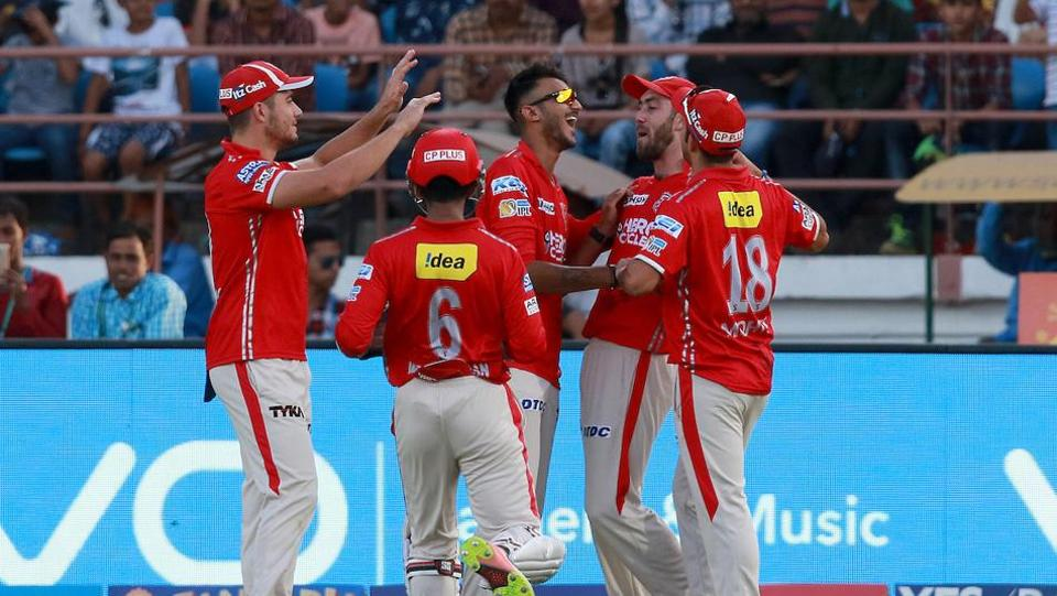 Axar Patel's 17-ball 34 and 2/36 guided Kings XI Punjab to a 26-run win against Gujarat Lions at the Saurashtra Cricket Association Stadium in Rajkot. Get full cricket score of Gujarat Lions vs Kings XI Punjab here