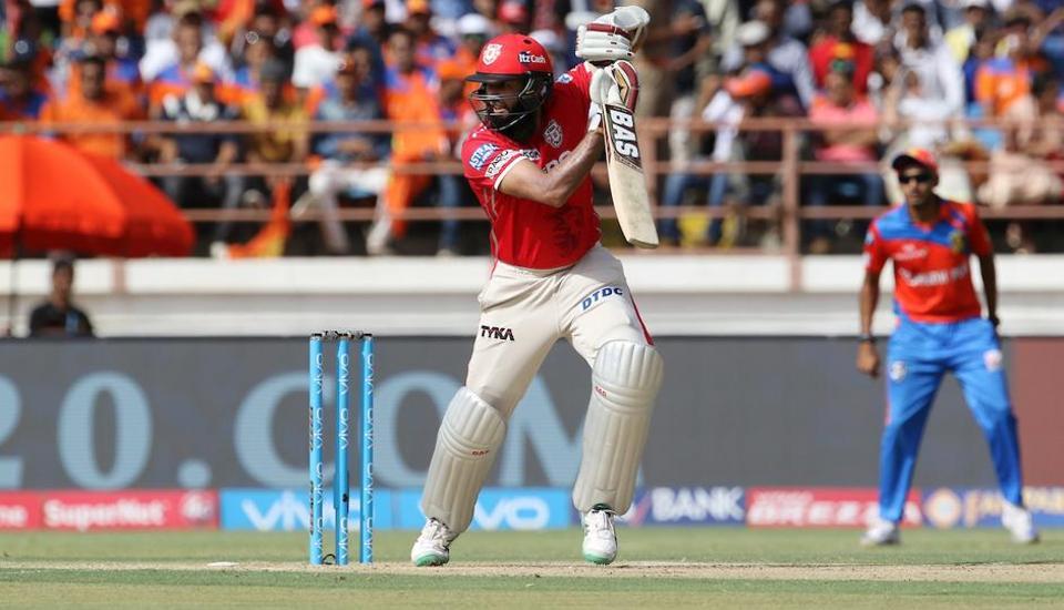 Hashim Amla's third IPL fifty and Axar Patel's all-round show guided Kings XI Punjab to a 26-run win over Gujarat Lions at the Saurashtra Cricket Association Stadium, Rajkot. (BCCI )
