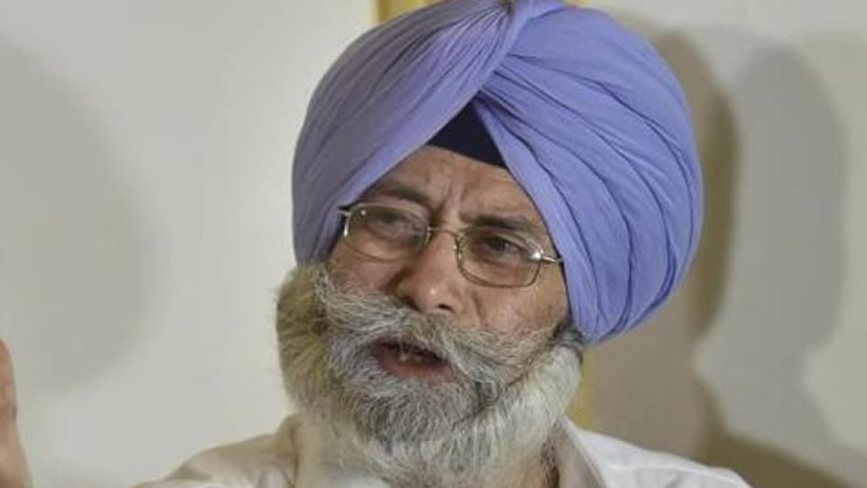 Punjab leader of opposition HS Phoolka