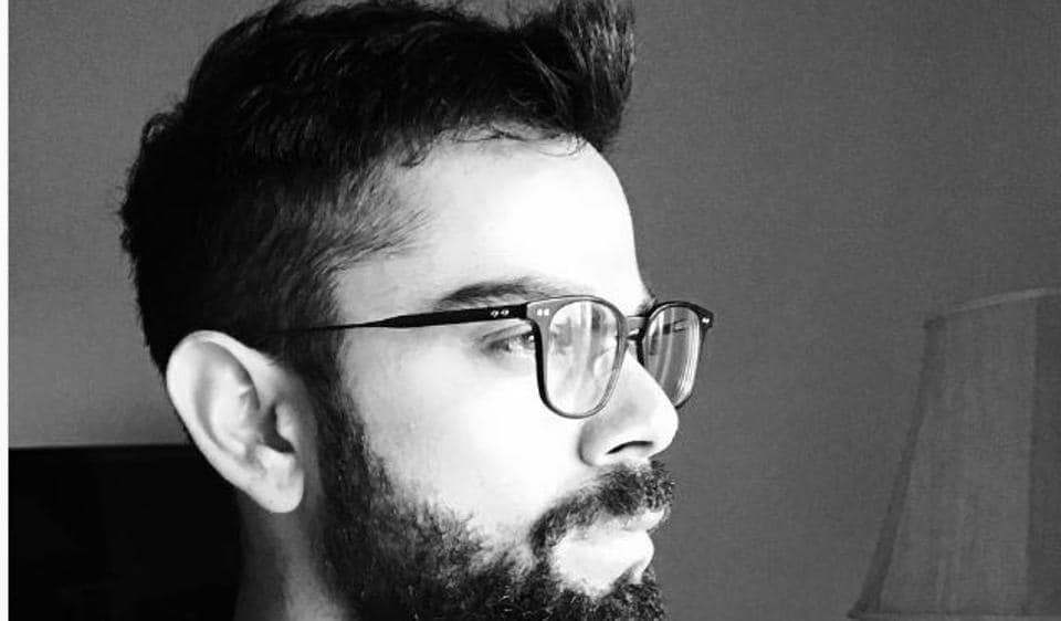 Kohli is not ready to shave his beard off yet.