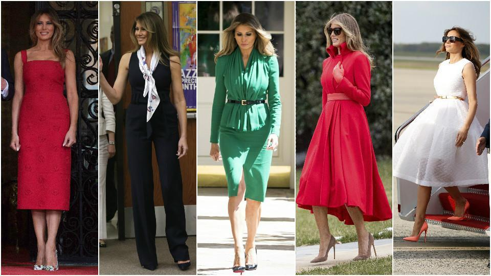 6cf0644eb35 Happy birthday Melania Trump  5 style lessons from the US First ...