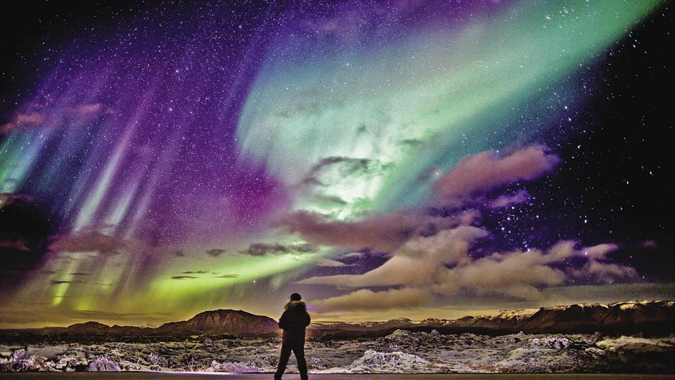 The Aurora Borealis, or the Northern Lights, are a routine occurrence for the Nordic masses