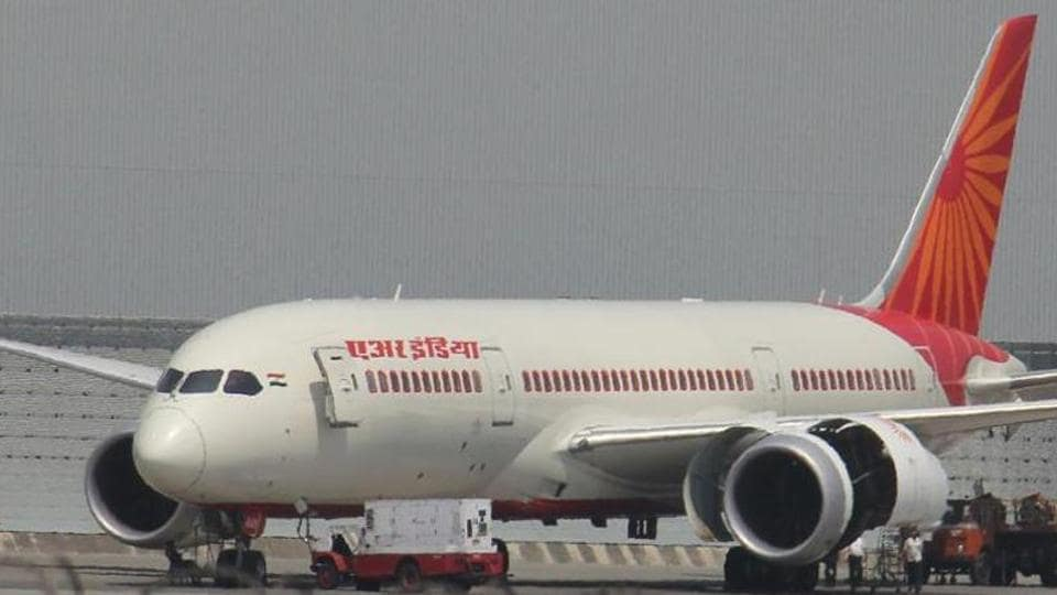 An Air India spokesperson said the bird hit happened just before the flight landed at 9:20 am, but it was never noticed then.