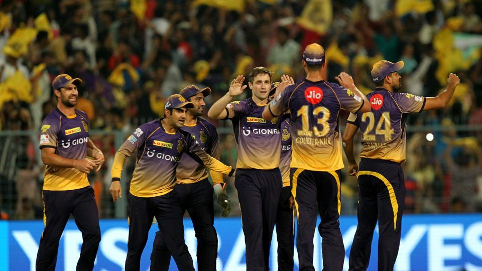 Kolkata Knight Riders bowled out Royal Challengers Bangalore for 49, the lowest total in IPL history as they secured a magnificent 82-run win at the Eden Gardens. (BCCI)