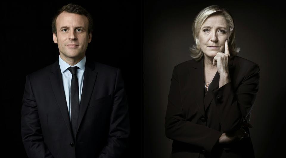 French presidential elections,Emmanuel Macron,Marine Le Pen