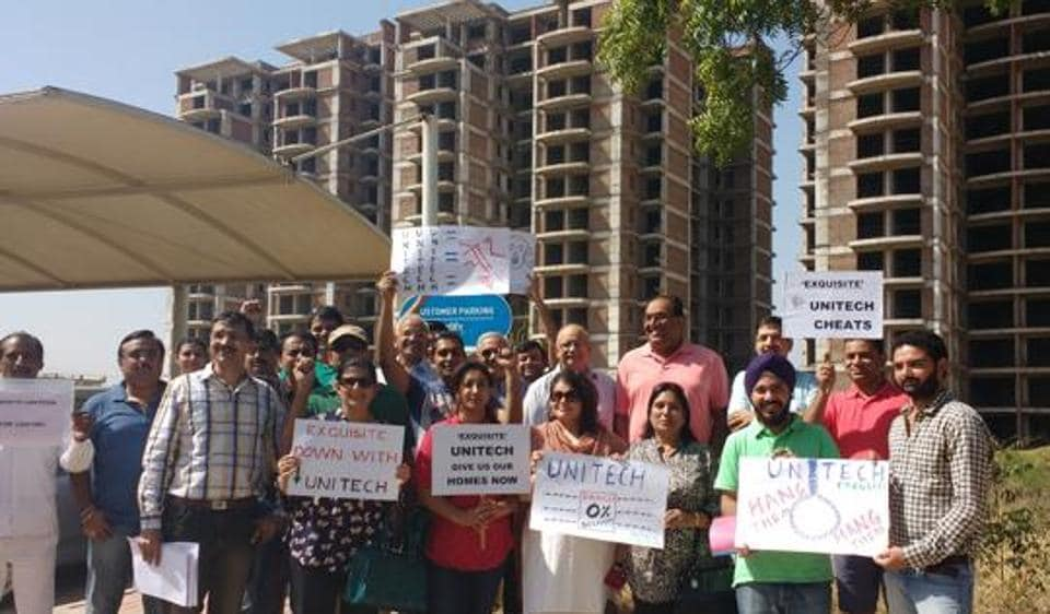 39 home buyers who had booked flats in Unitech's Vista housing project in Gurugram have sought a refund of their principal amount, totalling Rs 16.55 crore with interest, after the developer delayed possession.