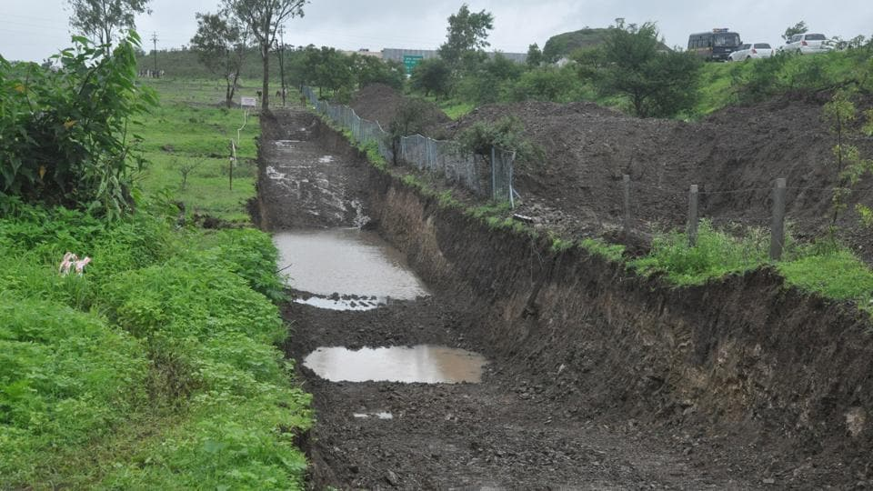 The area leading to Pavana dam in Pune.