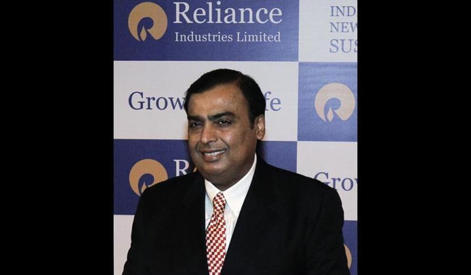 Mukesh Ambani's RIL reported a record fourth quarter net profit of Rs 8046 crore.