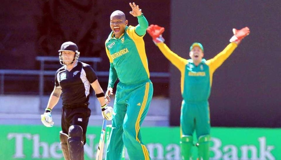 Lonwabo Tsotsobe played five Tests and 61 ODIs for South Africa.