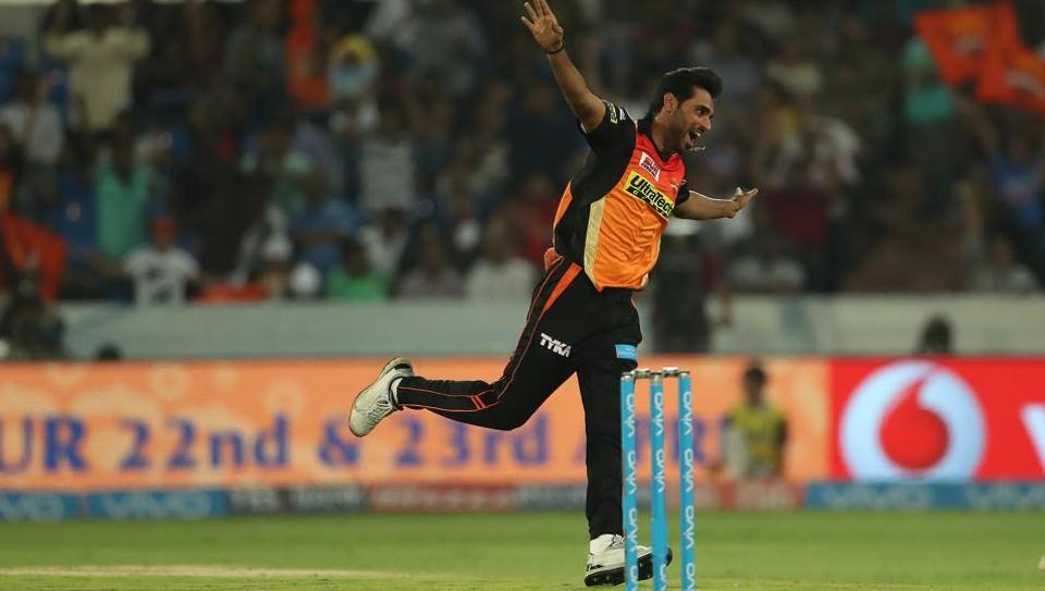 Sunrisers Hyderabad's Bhuvneshwar Kumar is currently the leading wicket-taker in IPL 2017, with 16 scalps in seven games.