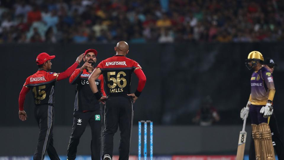 Tymal Mills removed Gautam Gambhir as Royal Challengers Bangalore staged a fightback. (BCCI)