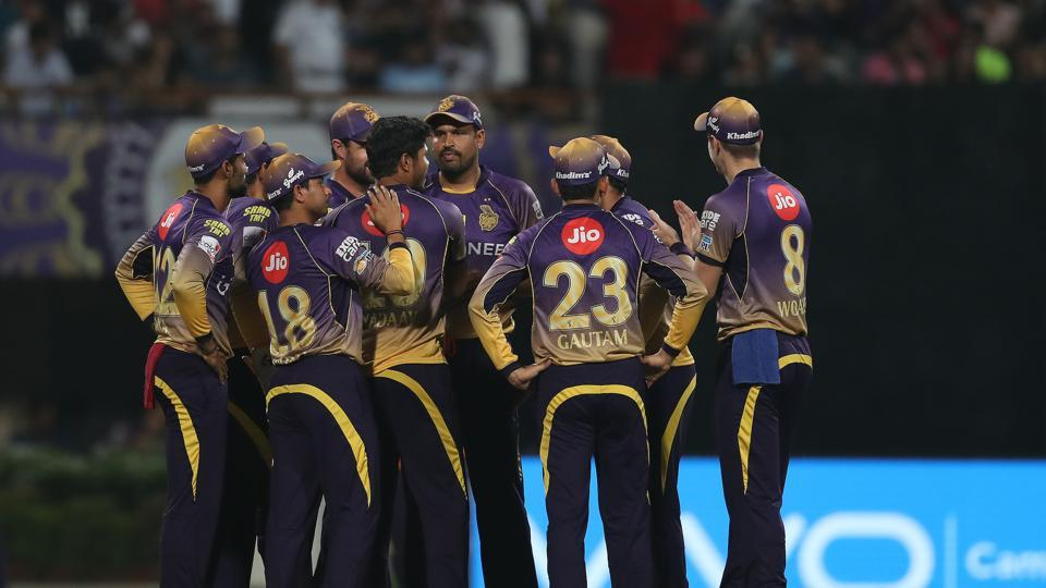 KKR's bowlers exploited the conditions brilliantly as they ran through the RCB batting order. (BCCI)