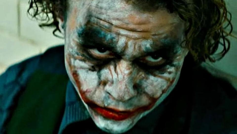 Heath Ledger won a posthumous Oscar for playing The Joker in The Dark Knight.