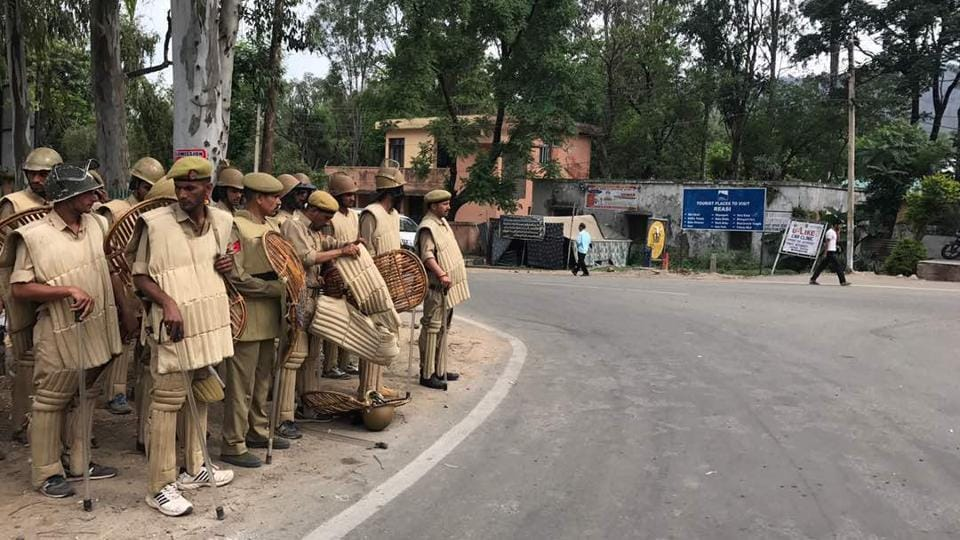On the call given by Akhil Bharatiya Vidyarthi Parishad (ABVP), Vishva Hindu Parishad (VHP) and Bajrang Dal, transporters and trading organisations in Reasi observed a complete shutdown, a local said.