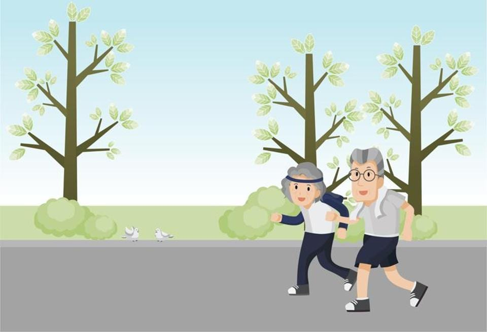 Exercises of moderate to vigorous intensity, and of any frequency, have a positive effect on cognitive function if done for about 45 to 60 minutes.