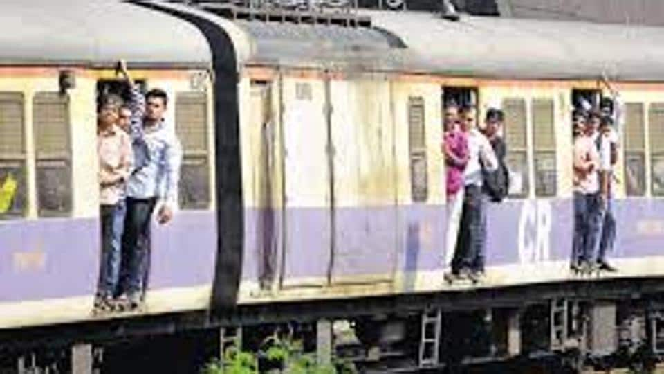 The train started from Churchgate at 10.50am.