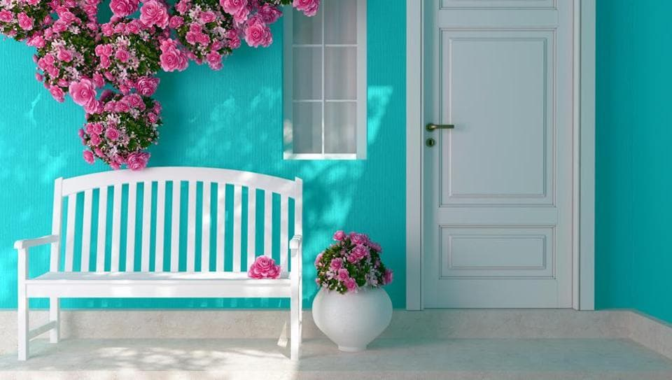 Light, refreshing colours are a must on the walls for summers.