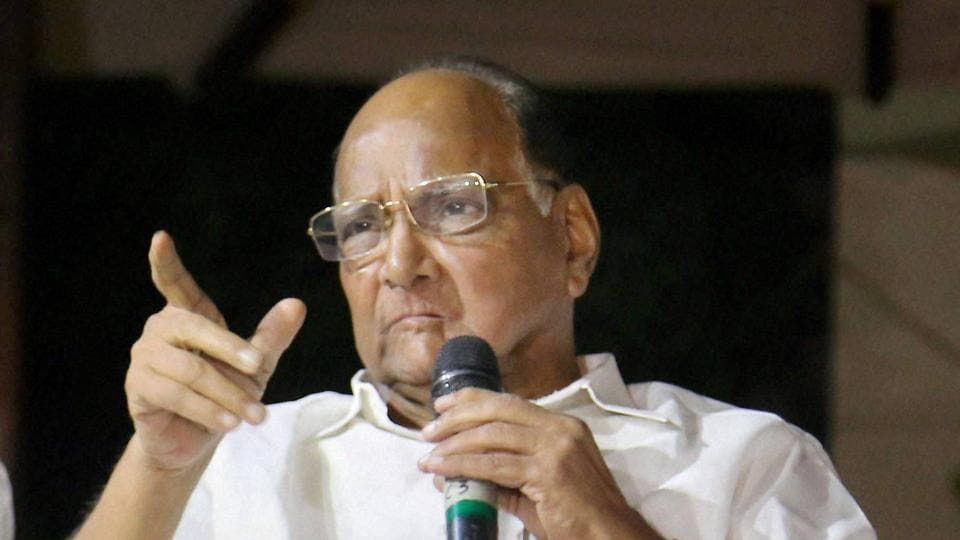 Nationalist Congress Party chief, Sharad Pawar.