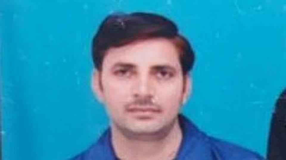 The deceased Central Reserve Police Force (CRPF) constable Ram Mehar Sandhu.