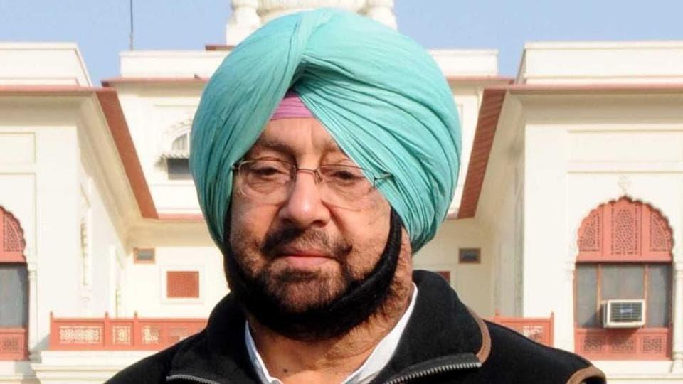 Punjab chief minister Captain Amarinder Singh,Indore,gurdwara demolition