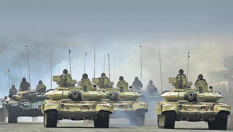 New Delhi wants to scale up its military capabilities to keep pace with China's defence modernisation.