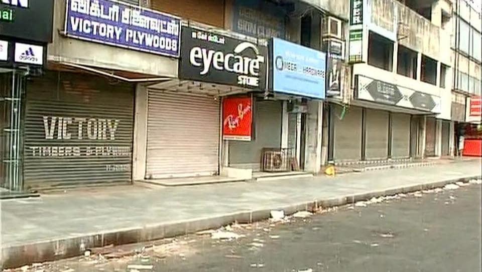 Tamil Nadu,Chennai,Tamil nadu Shutdown