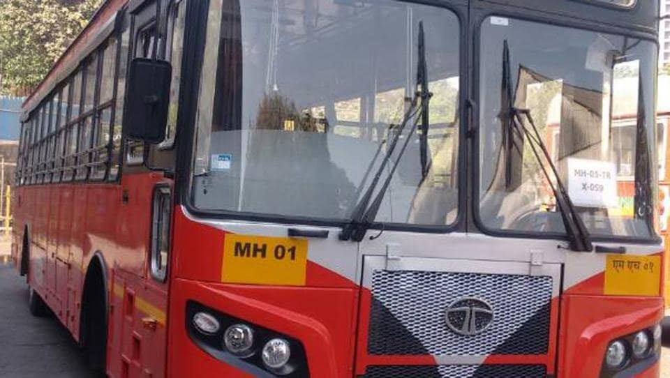 The new buses were launched on Tuesday.