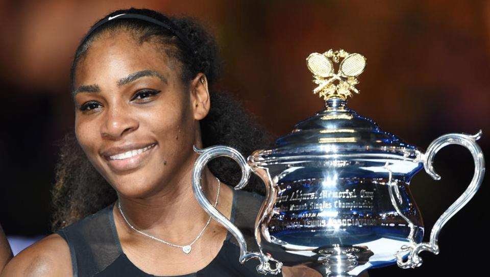 Serena Williams was quire a few weeks into her pregnancy when she won the Australian Open title earlier this year.