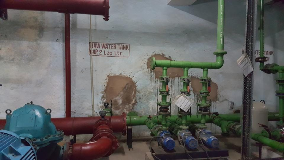 Unitech, the developer, was using two submersible pumps to extract groundwater and the residents had opposed this.