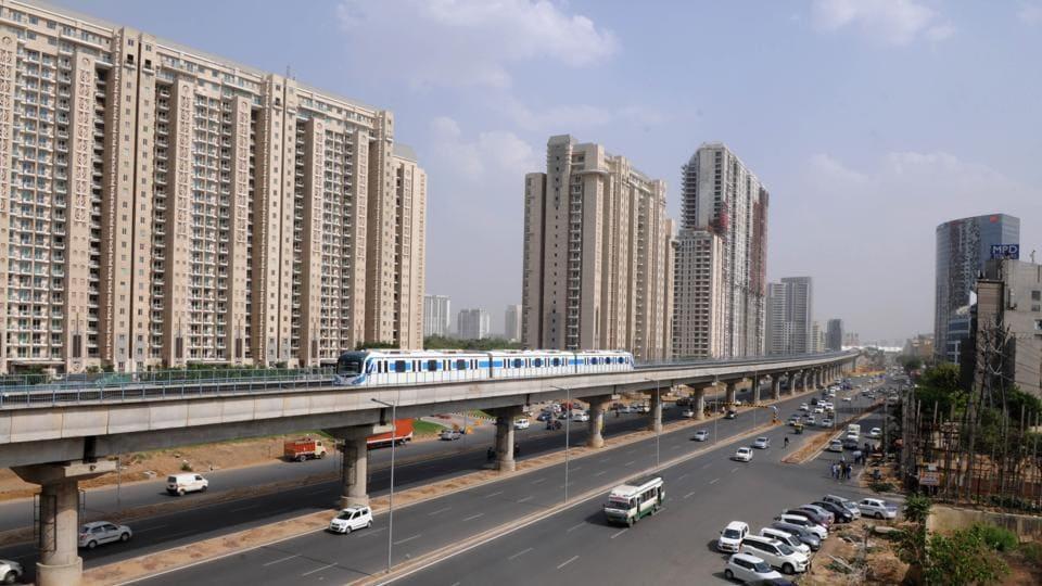 Rapid Metro,Gurgaon,Station