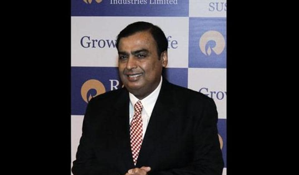 Mukesh Ambani's RIL today gained 1% in trade on the back of stellar Q4 performance.