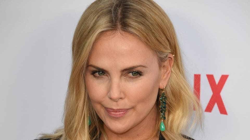 Charlize Theron arrives for the premiere of Netflix's Girlboss at ArcLight Cinemas in Hollywood.