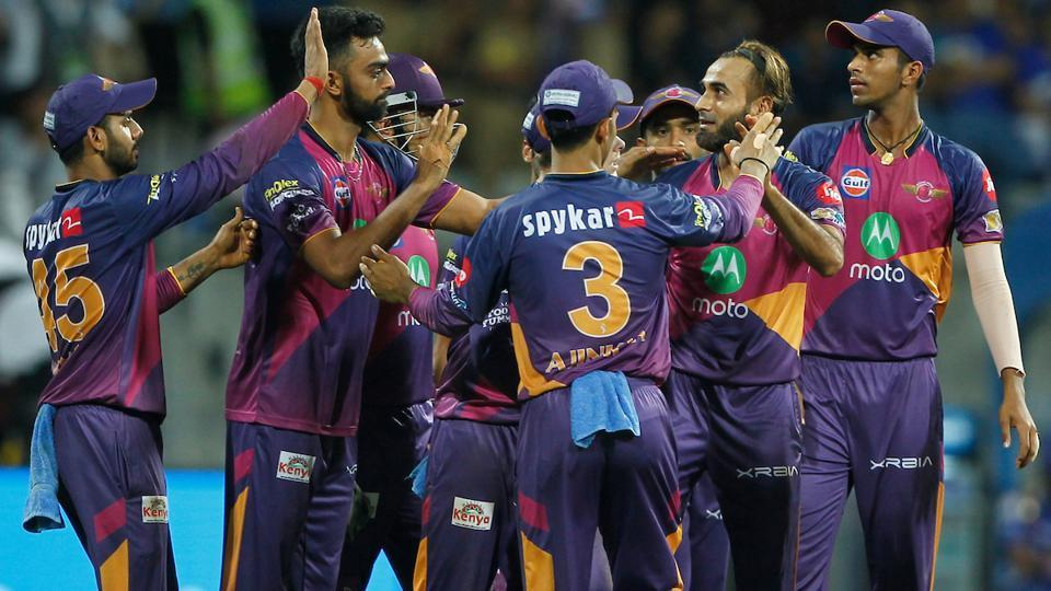 IPL 2017,Kolkata Knight Riders,Rising Pune Supergiant