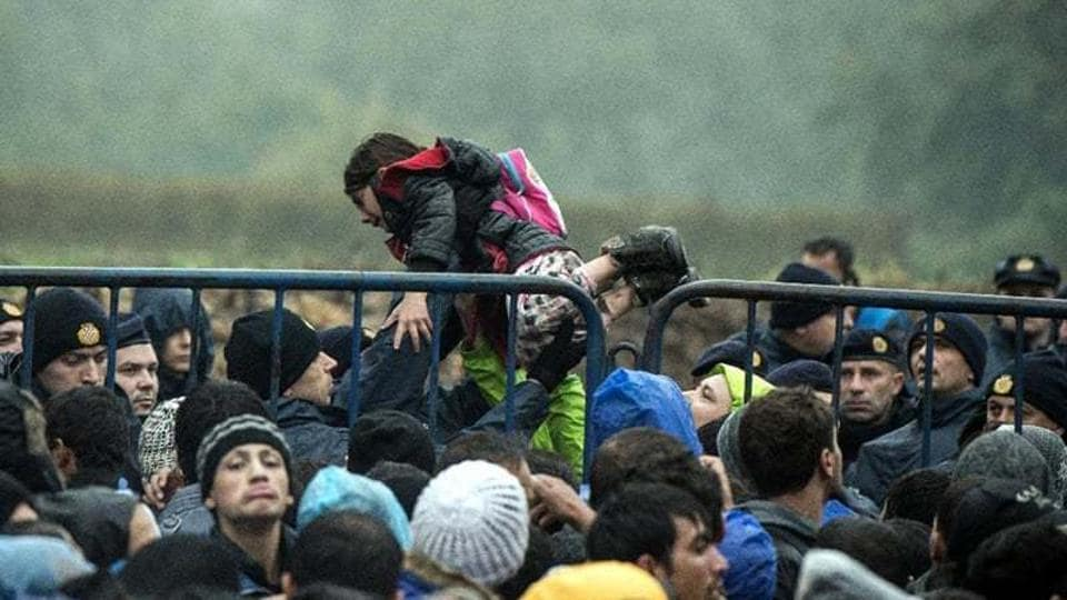 The European Union's statistical agency says European countries granted refugee status or some other protection to more than 700,000 people last year, most of them Syrians.