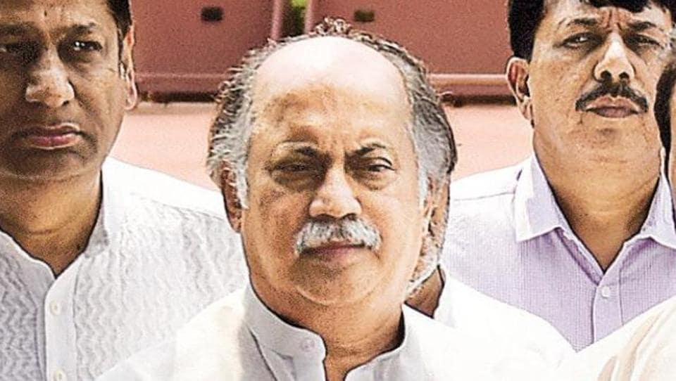 Former Congress leader Gurudas Kamat.
