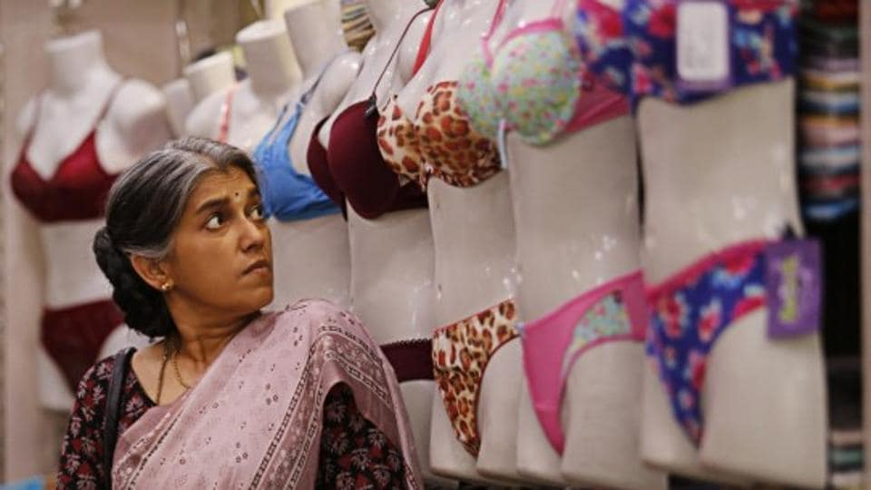 Ratna Pathak Shah in a still from the movie.