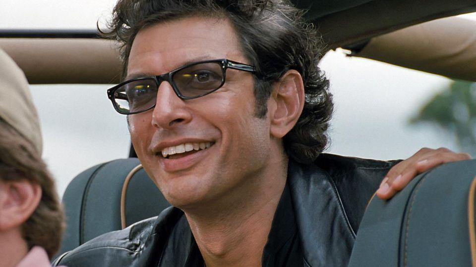 Jeff Goldblum played Dr Ian Malcolm in the first two Jurassic Park films.