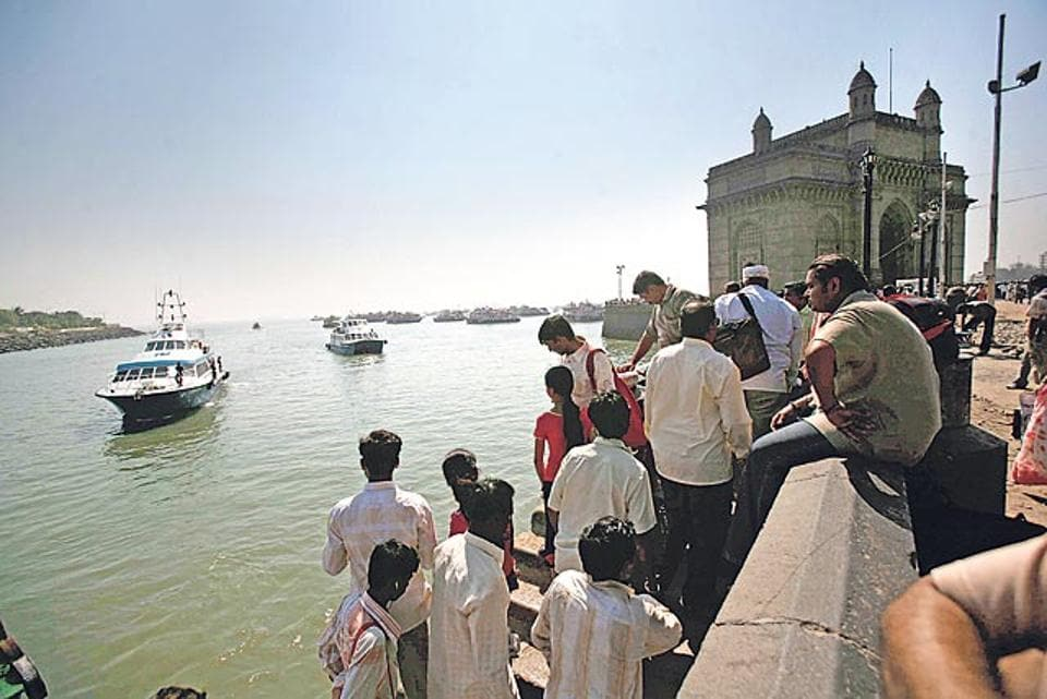 At present, tourists can access the island by ferries from Gateway of India.