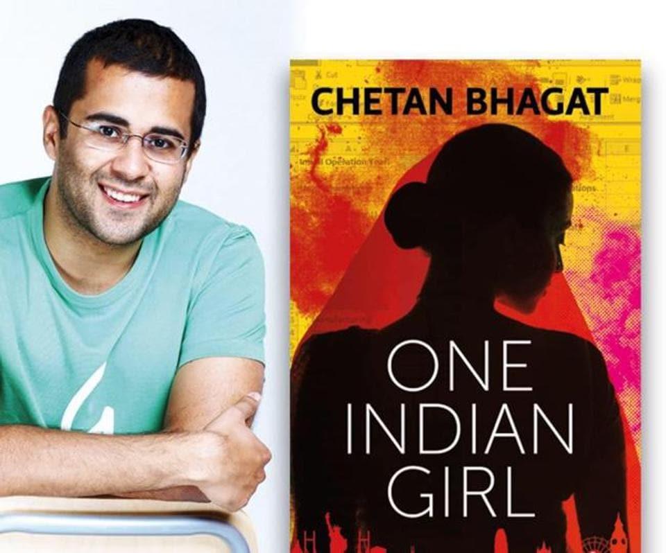 Chetan Bhagat's novel One Indian Girl was published last year.